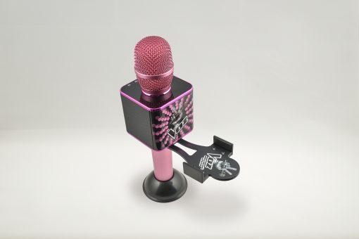 Soporte para el móvil smartphone El Micro de La Voz rosa