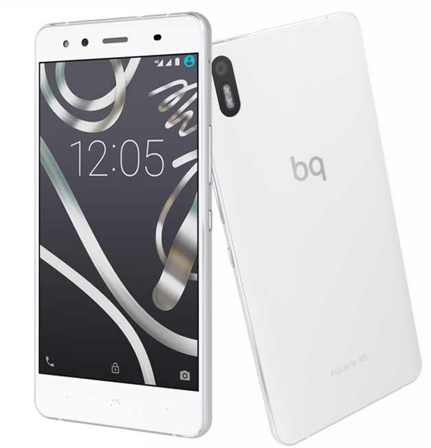 BQ Aquaris X5 Smartphone para utilizar el micro de La Voz de Antena 3