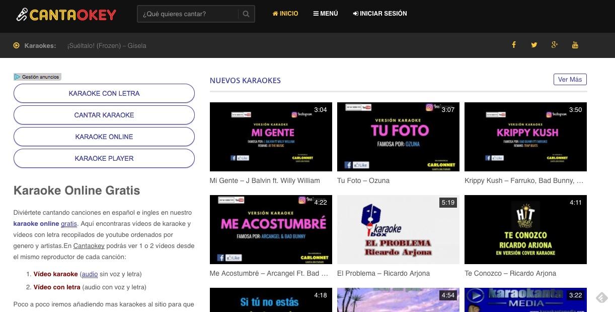 Cantaokey| Cientos de canciones listas para el micro de La Voz
