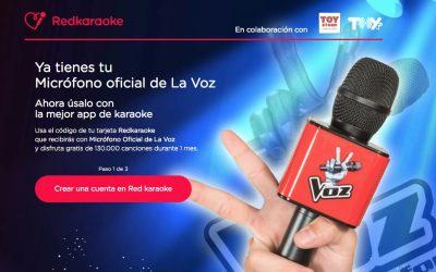 ¿Dónde encontrar canciones para el micro de La Voz?