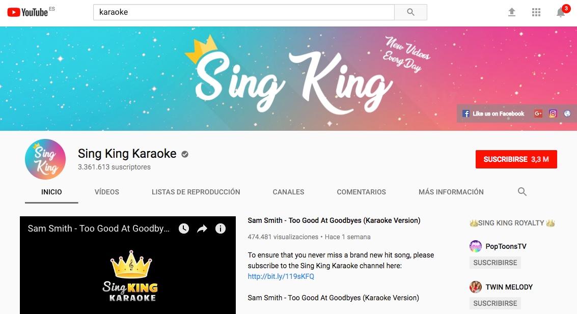 Youtube | Cientos de canciones para el micro de La Voz