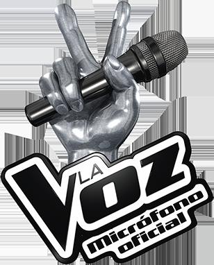 Logo micro de La Voz Oficial de Antena 3 con karaoke