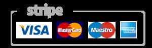 Puedes pagar con tarjeta visa, maestro o mastercard online tu micrófono karaoke